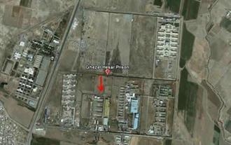عکس هوایی زندان قزلحصار کرج