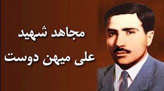 مجاهد شهید علی میهن دوست