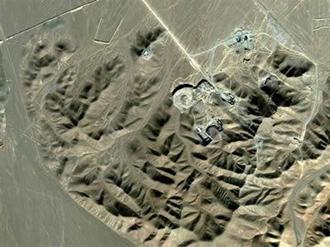 تاسیسات هستهیی رژيم ایران در فردو در قم