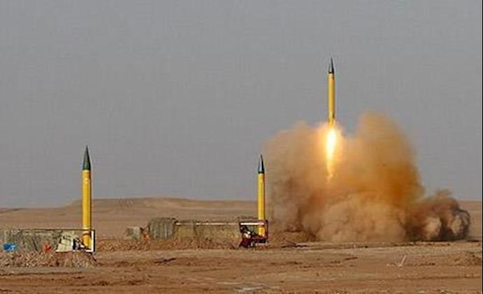 مانورهای موشکی سپاه پاسداران