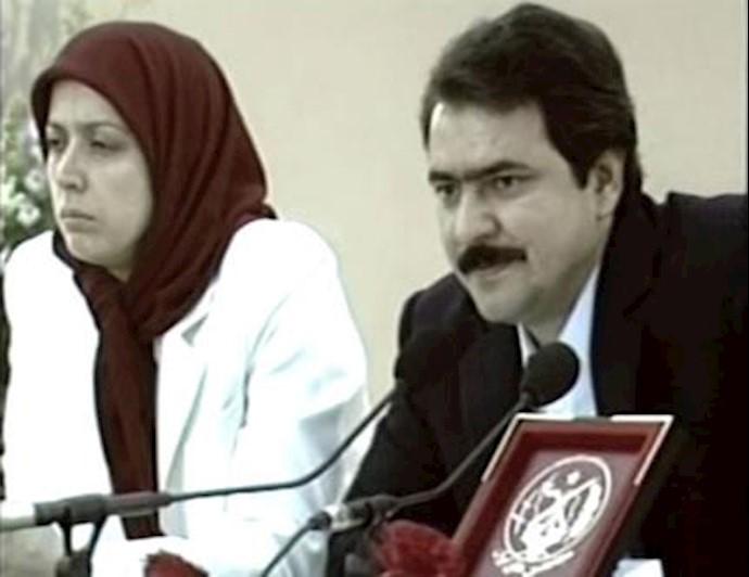 مسعود و مریم رجوی - 30 خرداد 1364