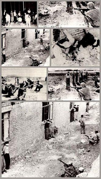 صحنههای سرکوب و کشتار مردم کردستان