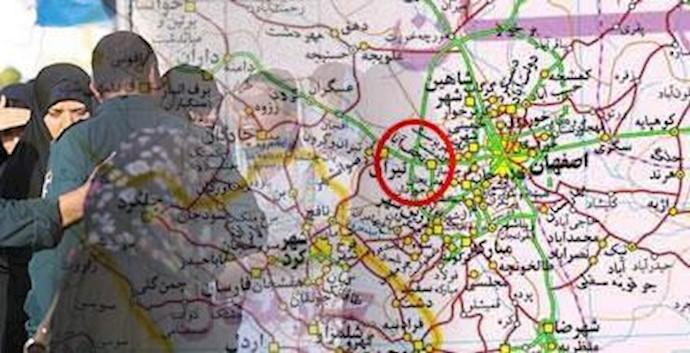 سرکوب زنان در اصفهان