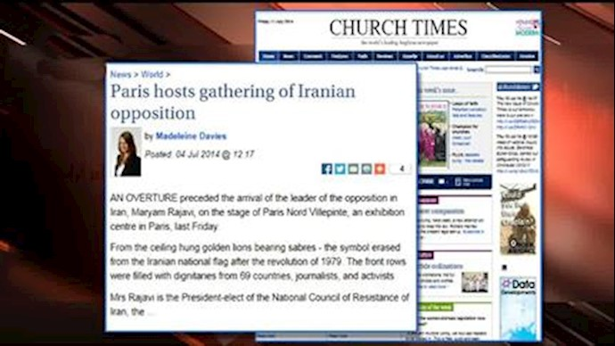 گزارش چرچ تایمز لندن از گردهمایی پاریس