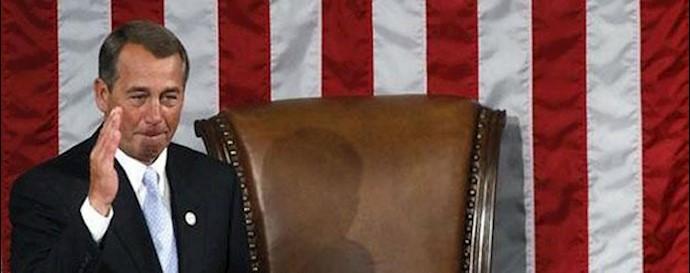 جان بینر سخنگوی مجلس نمایندگان آمریکا