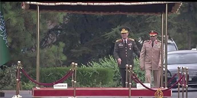 رؤسای ستاد ارتشهای عربستان سعودی و ترکیه