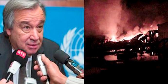 حمله موشکی به کمپ لیبرتی آبانماه 94