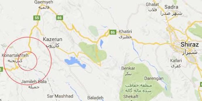 کنار تخت در استان فارس