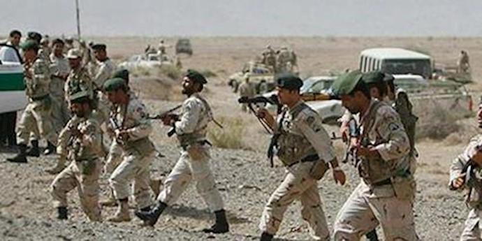 نیروهای سرکوبگر رژیم در بلوچستان