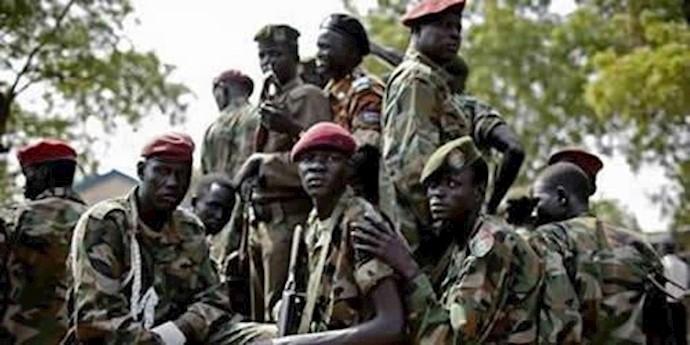 سربازان سودانی