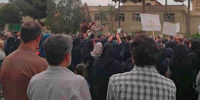 تجمع اعتراضى در كرمانشاه - آرشيو