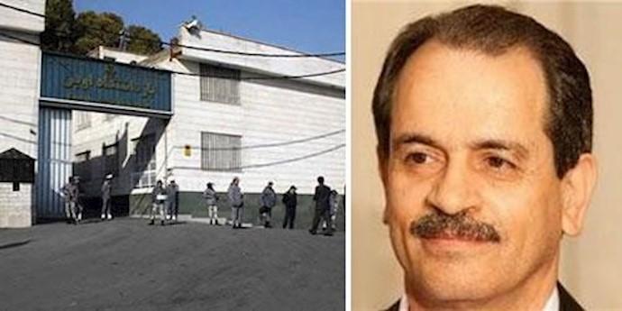 اعتصاب غذای محمدعلی طاهری در زندان اوین