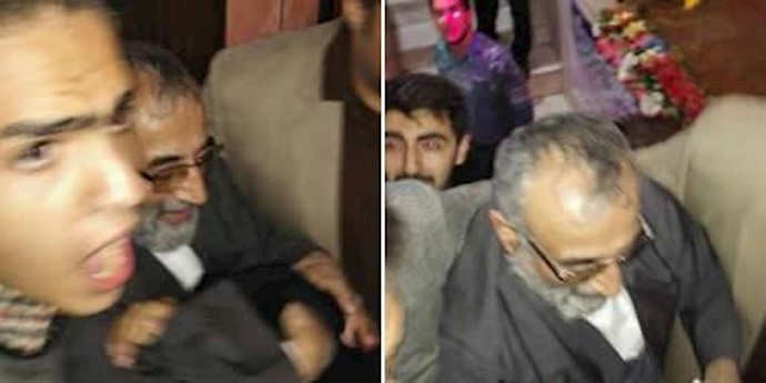 حمله عوامل باند خامنهای به موسوی لاری در ورامین