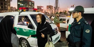 تشدید سرکوب زنان در خیابانهای تهران