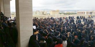 تظاهرات و تجمعات دانشجویان مراغه
