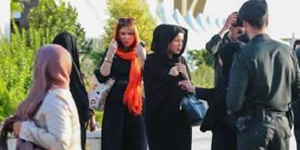 سرکوب زنان توسط نیروی انتظامی