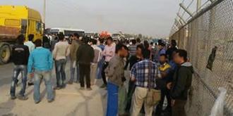 عسلویه - تجمع اعتراضی کارگران - آرشبو