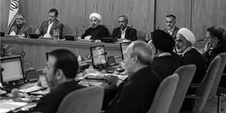 جلسه هیأت دولت آخوند روحانی