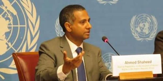 احمد شهید گزارشگر ویژه سازمان مللمتحد در امور حقوقبشر در ایران