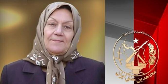 مادر مجاهد مهری جنتپور (مادر داعی)