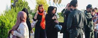 سرکوب زنان توسط زنان معاویه و نیروی انتظامی در تهران