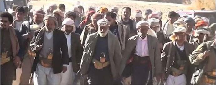 شیوخ عشایر مأرب یمن