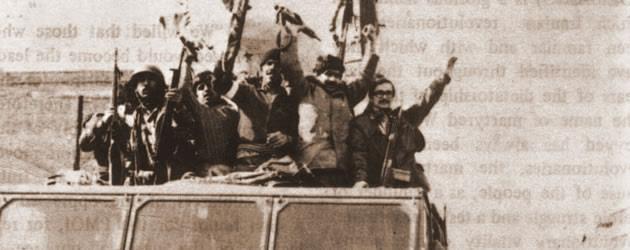 سردار خیابانی و صمد سیاه کلاه در  جریان انقلاب ضدسلطنتی - 1357