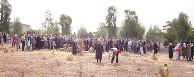 خانواده قتل عام شدگان 67