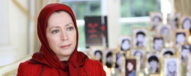 مریم رجوی، رئيس جمهور برگزيده مقاومت ايران