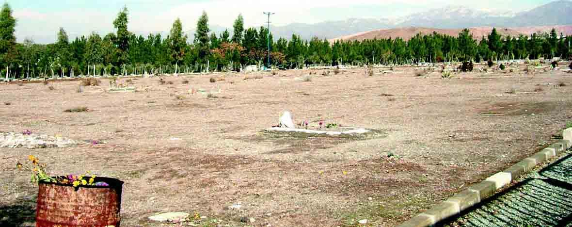 Mass graves of victims of 1988 massacre