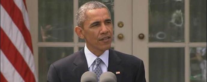 باراک اوباما رئیس جمهور آمریکا