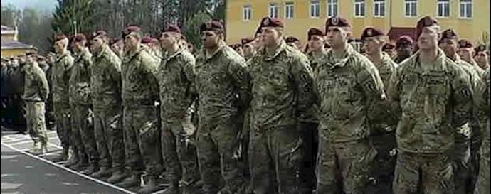 آموزش ارتش اوکراین توسط نیروهای آمریکایی