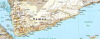 نقشه-یمن