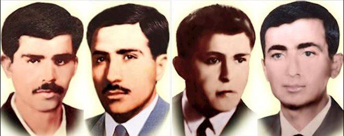 علی باکری - محمد بازرگانی - علی میهندوست - ناصر صادق