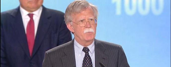 جان بولتون سفیر سابق آمریکا
