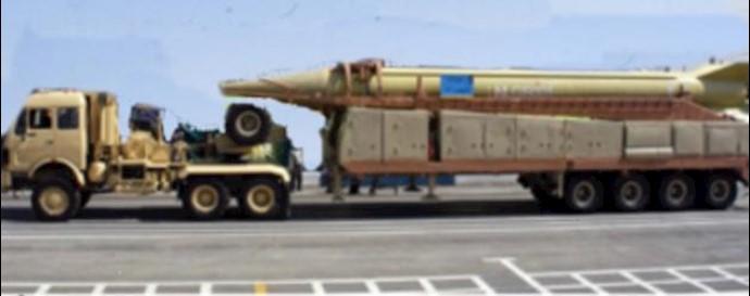 موشک شهاب 3 ساخت رژیم آخوندی