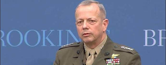 ژنرال جان آلن نماینده ویژه باراک اوباما در ائتلاف بینالمللی