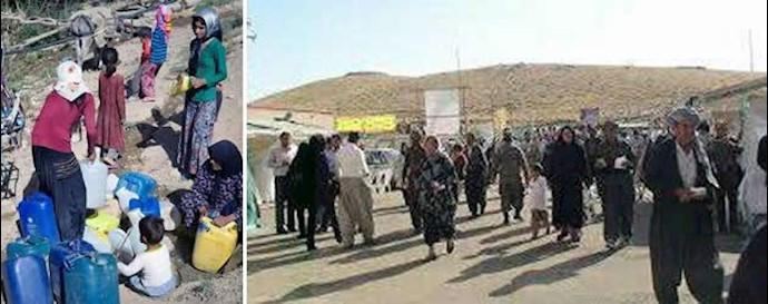 کرمانشاه - اهالی روستای گاوپناه