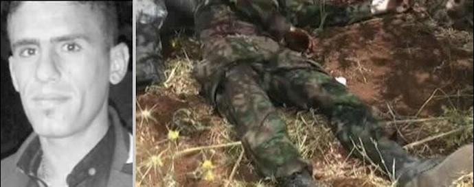 هلاکت مزدوران حزب الشیطان در سوریه