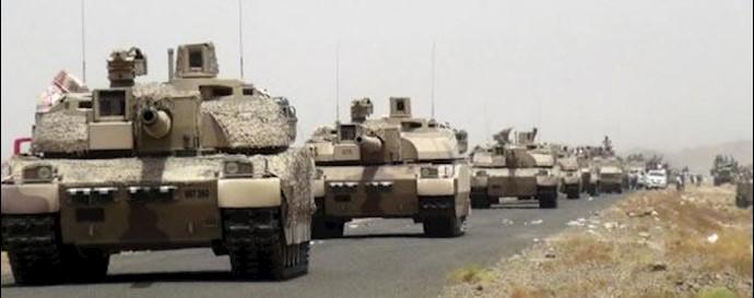 ستونهای نظامی به سوی مأرب
