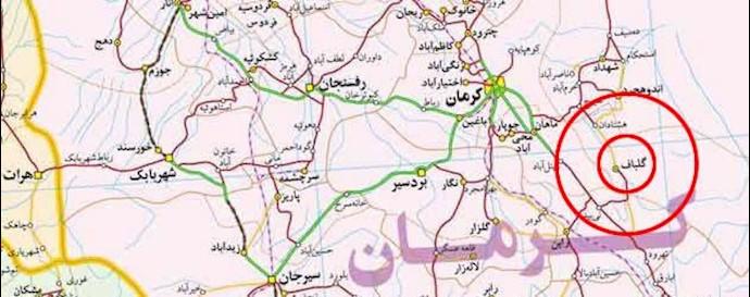 زمینلرزه 4ریشتری در گلباف کرمان