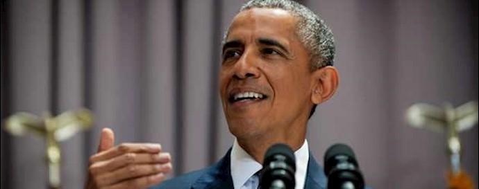 باراک اوباما رئیسجمهور آمریکا