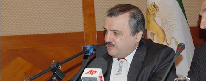 محمد محدثین مسئول کمیسیون امور خارجه شورای ملی مقاومت ایران