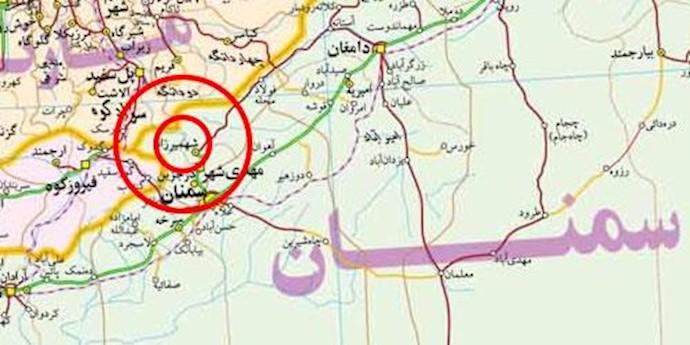 زمین لرزه در شهمیرزاد در استان سمنان