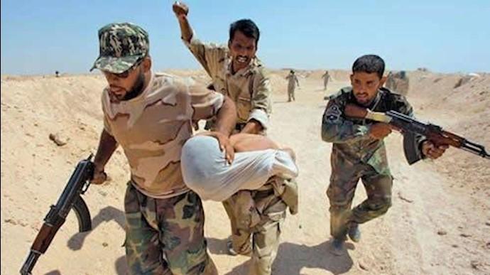 رفتار خشونت آمیز شبه نظامیان مورد حمایت رژیم ایران در عراق
