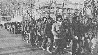 رژه میلیشیا در خیابانهای تهران