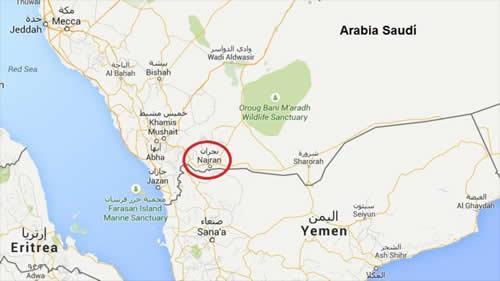 Resident Killed, Seven Injured in Cross-Border Shelling of Saudi Shopping Center