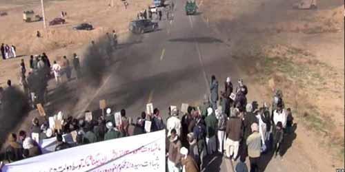 مظاهرة اهالي هرات في افغانستان ضد النظام الايراني
