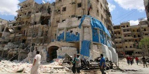ابراز انزجار جاش ارنست از حمله هوایی هواپیماهای اسد به بیمارستانی در حلب