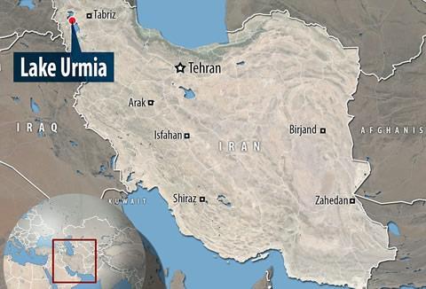 NASA Captures Irans Lake Urmia Turning From Green To Red